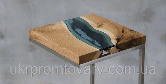 Кавовий столик LOFT DESIGN 64889, НАТУРАЛЬНЕ ДЕРЕВО, меблі Лофт Виробництво в Києві