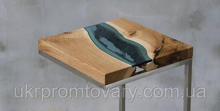 Кавовий столик LOFT DESIGN 64889, НАТУРАЛЬНЕ ДЕРЕВО, меблі Лофт Виробництво в Києві, фото 2