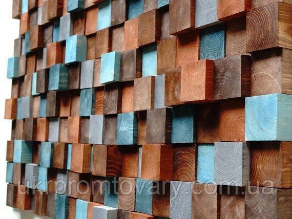 Декор для стен LOFT DESIGN 6496, НАТУРАЛЬНОЕ ДЕРЕВО, мебель Лофт Производство в Киеве