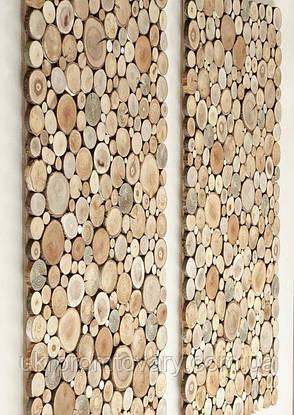 Декор для стін LOFT DESIGN 64919, НАТУРАЛЬНЕ ДЕРЕВО, меблі Лофт Виробництво в Києві, фото 2
