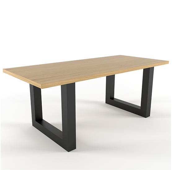 Стол обеденный GoodsMetall в стиле Лофт 1800х900х750 СТО82