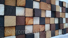 Декор для стен LOFT DESIGN 649116, НАТУРАЛЬНОЕ ДЕРЕВО, мебель Лофт Производство в Киеве, фото 2