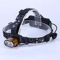Налобный аккумуляторный фонарь HEADLAMP-BL-K28-T6-80000W фонарик