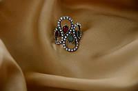 Красивое женское кольцо Османи.Бижутерия Великолепный Век.