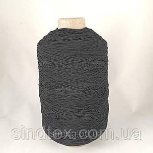 Нитка Резинка 500 грам. Черная