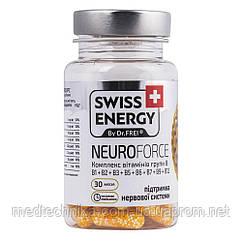 Витамин B Neuroforce №30, Swiss Energy
