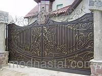 Ворота въездные откатные (сдвижные)