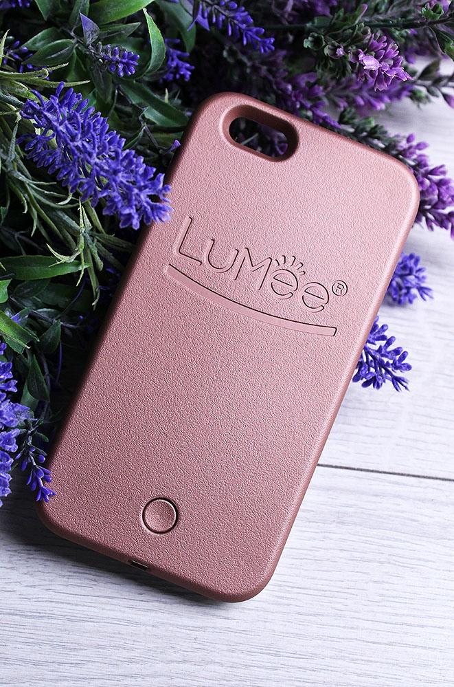 Чехол с LED подсветкой бронзовый IPhone 6 16.5 х 8.5 см