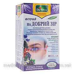 Фиточай Хорошее зрение, 20 пакетиков, Dr.Fito
