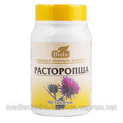 Расторопша, 90 таблеток, Biola