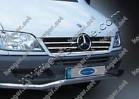 Хром накладка на решетку радиатора Mercedes Sprinter CDI, фото 1