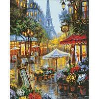 Алмазная мозаика Цвета Парижа, 40x50 см