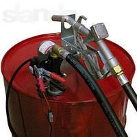 Узел для заправки и перекачки дизельного топлива из бочки PTP 12В, 40 л/мин, фото 1