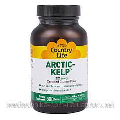 Арктик Келп, 300 таблеток, Country Life