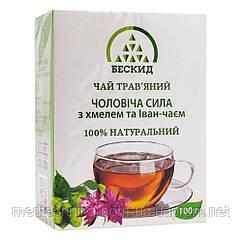 Травяной чай Мужская сила с хмелем и Иван-чаем, 100 г