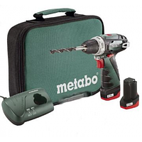 Аккумуляторный шуруповерт Metabo PowerMaxx BS Basic (мягкий кейс)