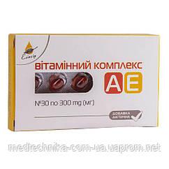 Витаминный комплекс АЕ, 30 капсул, Эликсир