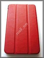 Красный кожаный Tri-fold case чехол-книжка для планшета Asus Fonepad 7 Fe375CXG K019, фото 1