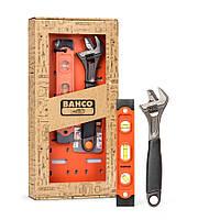 Набор инструмента Bahco уровень и разводной ключ