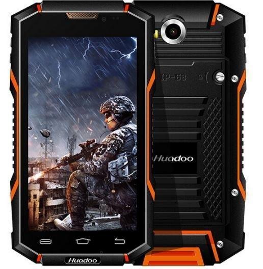 Защищенный мобильный смартфон Huadoo HG06 pro orang 4500mAh