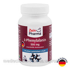 L-фенилаланин, 500 мг, 90 капсул, ZeinPharma