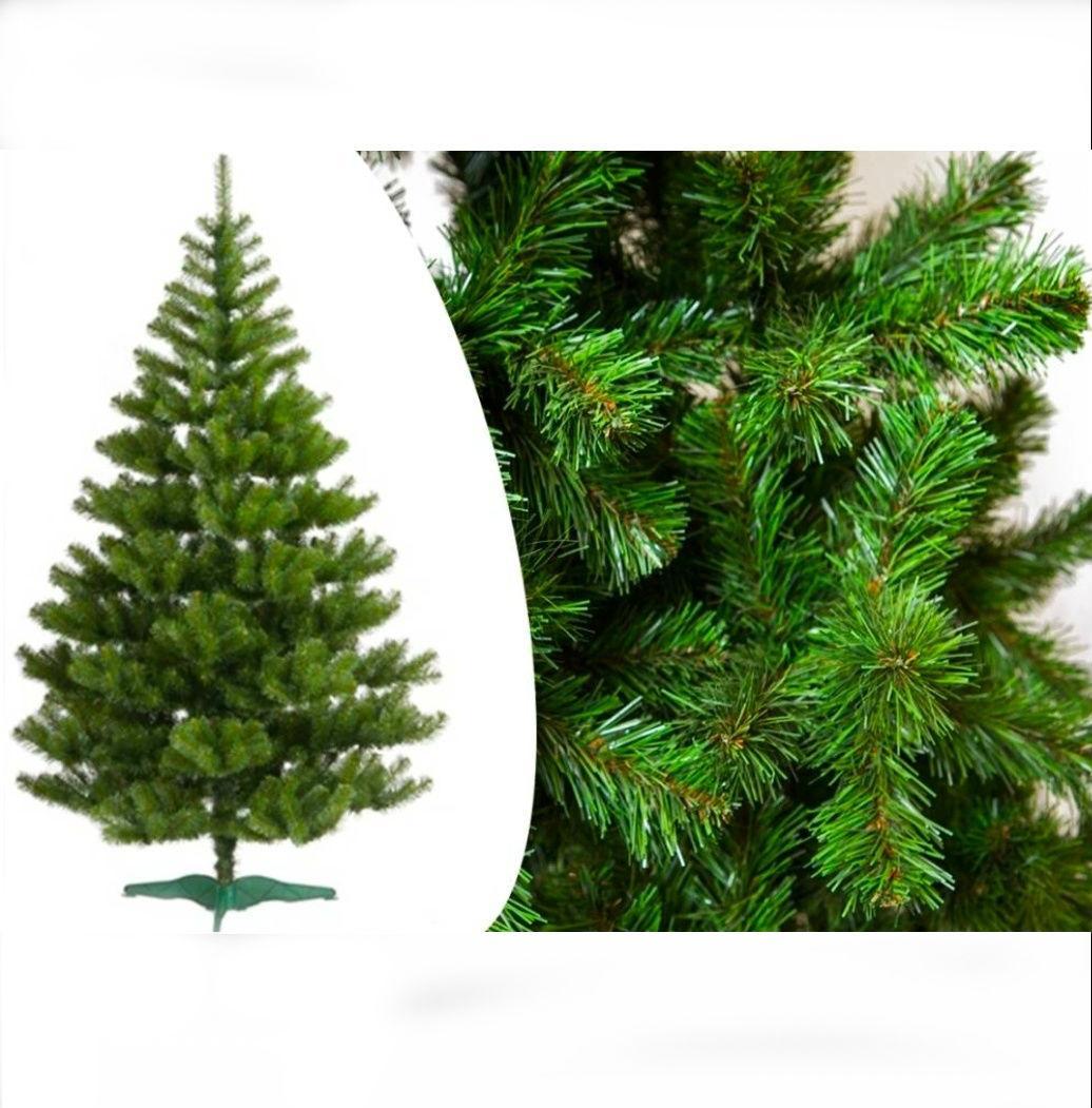 """Искусственная елка зеленая """"Сказка"""" 1.5м. Европейская.ПВХ."""