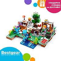 Мини конструктор фигурка для мальчиков Mineblocks 5121 MK в коробке Майнкрафт 4 вида