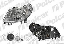 Фара лев 8pin Ducato/Boxer/Jumper 06-10