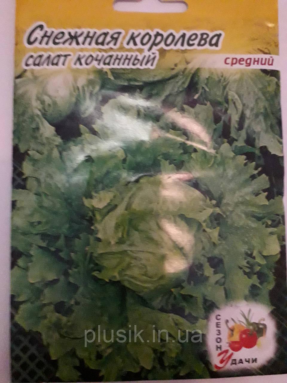 Салат кочанный Снежная Королева средний 5 г (минимальный заказ 10 пачек)