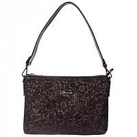 Черная замшевая сумка для женщин Desisan арт. 3012-416