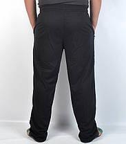 Штаны спортивные мужские трикотажные с вышитым логотипом, фото 3