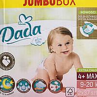 Dada Extra soft р.4+/74шт. дада экстра софт подгузники для детей