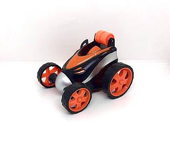 Машинка-перевертыш 360° трюковая с пультом оранжевая