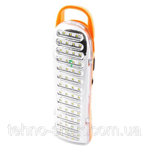 Фонарь светодиодный аккумуляторный Yajia 6811 ATP, 51SMD