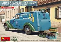 1:35 Сборная модель автомобиля Lieferwagen Typ 170V, MiniArt 38035;[UA]:1:35 Сборная модель автомобиля