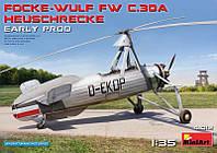 1:35 Сборная модель автожира FW C.30A, MiniArt 41012;[UA]:1:35 Сборная модель автожира FW C.30A, MiniArt 41012