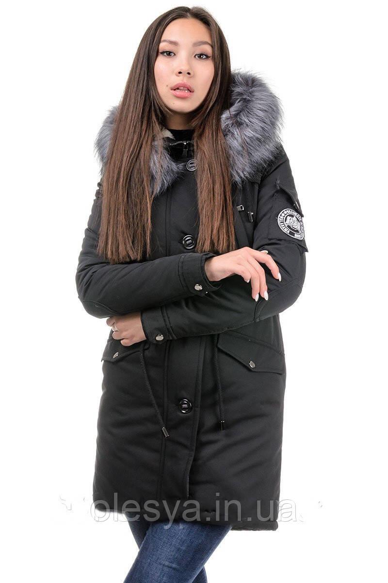 Куртка парка  женская Фокс Размер 42