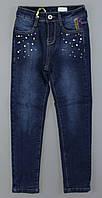 {есть:140} Джинсовые брюки на флисе для девочек Seagull, 134-164 рр.