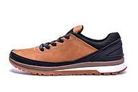 Мужские кожаные кроссовки   Е-series Classic brown (реплика), фото 1