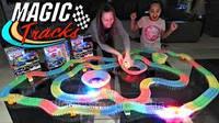 Magic tracks(Мэджик трек) 360 светящаяся дорога,2 машинки