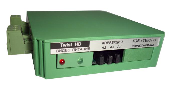 Комплект усилителей для передачи видеосигнала HDCVI, HD-TVI, AHD Twist-HD