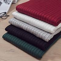 Женский свитер в рубчик черный, фото 1