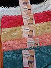 Трусы плавки женские коттон стрейч кружево р.48,50,52.От 6шт по 27грн., фото 4