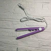 Утюжок выпрямитель мини для волос