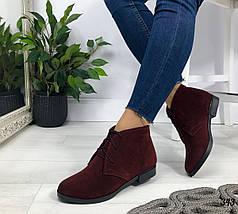 Женские ботинки на шнурках , фото 2