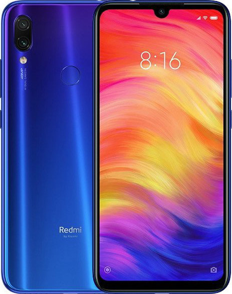 Xiaomi redmi Note 7 4/128gb Blue Global Гарантия 1 Год