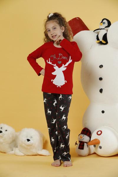 Пижама детская для девочки SEXEN 24089 на 4-5; 6-7 лет