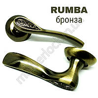 Ручка PUNTO раздельная RUMBA TL ABG-6 зеленая бронза