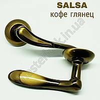 Ручка PUNTO раздельная SALSA TL CFB-18 кофе глянец