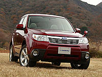 Брызговики модельные Subaru Forester 2008-12г. (Лада Локер)